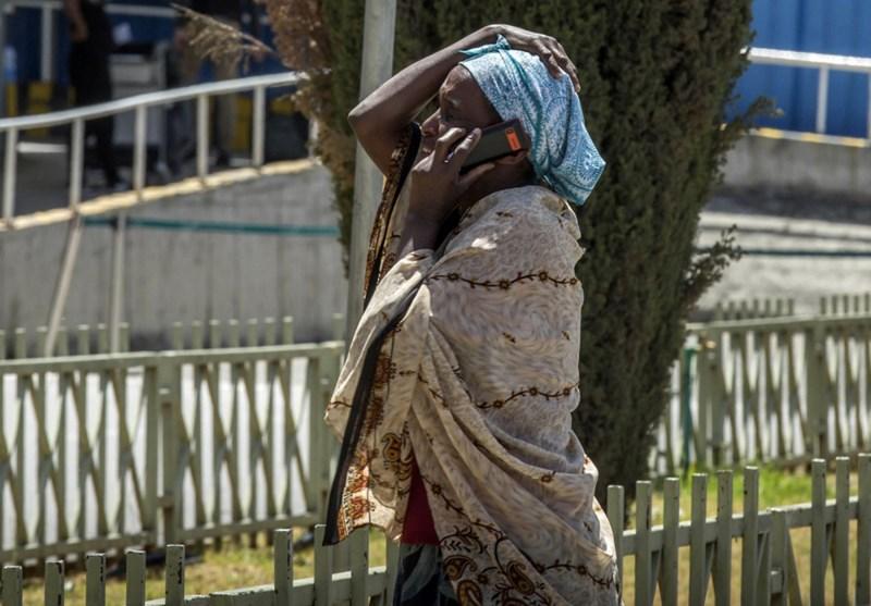 Người thân của nạn nhân bật khóc khi nhận tin buồn. Ảnh Mulugeta Ayene/AP
