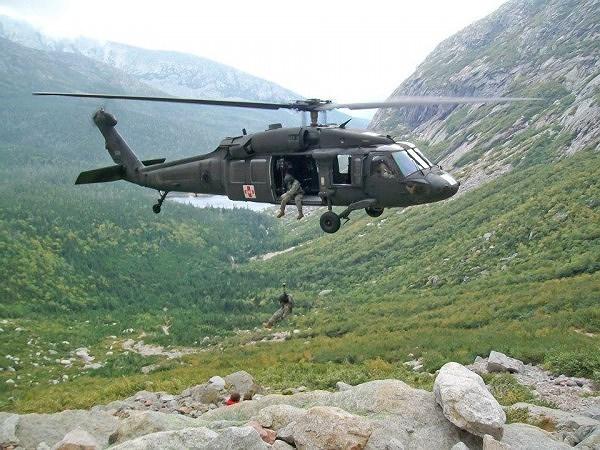 HH-60M là một biến thể của dòng trực thăng UH-60 Black Hawk của lục quân Mỹ.