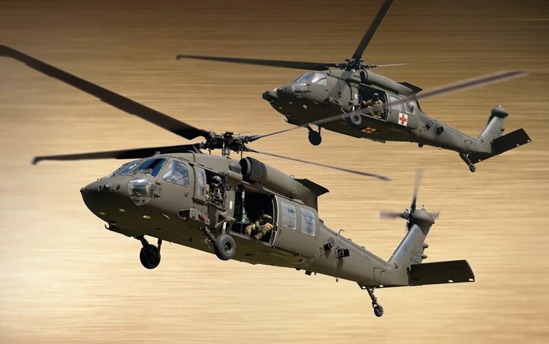 HH-60M được tích hợp các cải tiến mới như động cơ và thiết bị điện tử mạnh hơn.