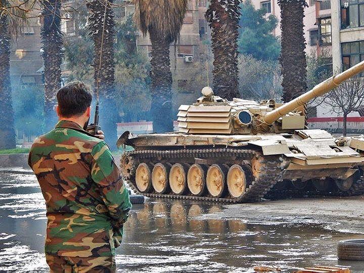Một gói nâng cấp đơn giản hơn dành cho các cỗ chiến xa T-72 của Quân đội chính phủ Syria chính là phiên bản T-72 Shafrah (Razor), nó đã loại bỏ giáp lồng và chỉ tích hợp thêm các phiến thép dạng mái ngói quanh tháp pháo.