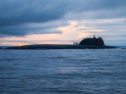 Belgorod là sản phẩm hoàn thiện của đề án nâng cấp các tàu ngầm lớp Antey sau khi nó bị tạm dừng vào năm 2006, con tàu khi đó đã hoàn thành gần 76%.