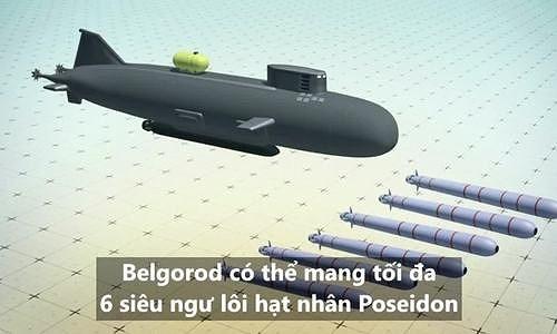 Đối với Poseidon, cự ly giữa châu Âu và Mỹ không còn là vấn đề. Lò phản ứng hạt nhân được làm mát bằng chất kim loại lỏng sẽ giúp gia tăng hiệu suất hoạt động và giảm đáng kể tiếng ồn.