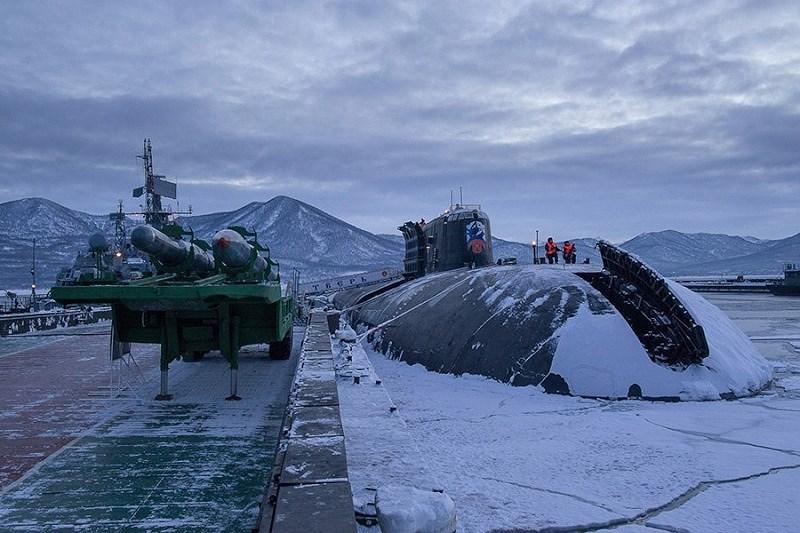 Có nghĩa là Poseidon tạo ra tiếng ồn thấp hơn cả chiếc tàu ngầm im lặng nhất thế giới Varshavyanka.