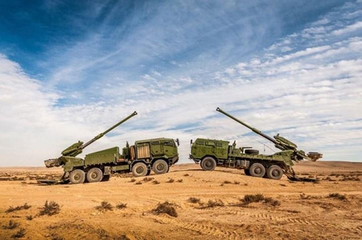 Hiện tại trên thế giới đang có khoảng 10 quốc gia sử dụng hệ thống pháo tự hành này. Ảnh: Casr.