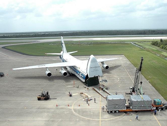 Nếu chỉ tính hoạt động vận tải quân sự chuyên biệt thì An-124 mới là vận tải cơ lớn nhất thế giới.