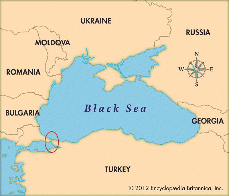 Với vị trí đặc biệt của mình, eo biển Bosphorus trên đất Thổ Nhĩ Kỳ chính là