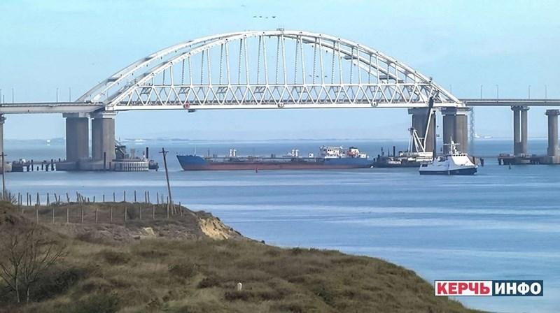 Theo ông Vladimir Omelyan thì tổng cộng 35 chiếc tàu của Ukraine đã bị chặn lại và chúng chỉ có thể di chuyển theo hướng qua các cảng của Nga nằm trên biển Azov.