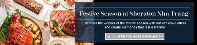 Tưng bừng mùa lễ hội cuối năm tại khách sạn Sheraton Nha Trang - Ảnh 4