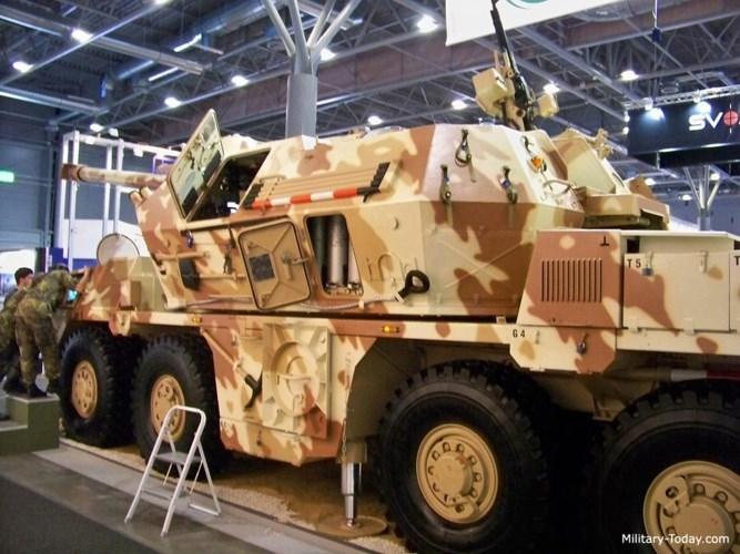 Pháo tự hành DANA-M1 có tầm bắn xa từ 4,6-18,7 km. Ảnh: Military-Today.