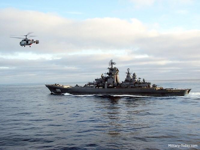 Tuần dương hạm này có lượng giãn nước toàn tải lên tới 28.000 tấn. Ảnh: Military-Today.
