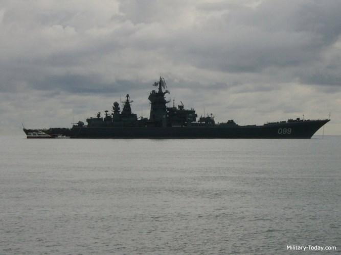 Tàu được trang bị động cơ hạt nhân và có tốc độ tối đa 35 hải lý/giờ. Ảnh: Military-Today.