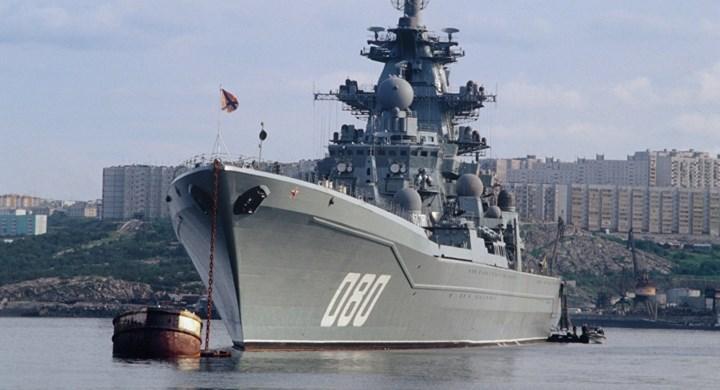 Hai tàu cùng lớp còn lại là Đô đốc Lazarev và tàu Đô đốc Ushakov đang được tái trang bị và theo kế hoạch sẽ được đưa trở lại phục vụ vào năm 2020. Chiếc Đô đốc Nakhimov thì đã ngừng hoạt động và hiện vẫn trong quá trình đại tu. Ảnh: Sputnik.