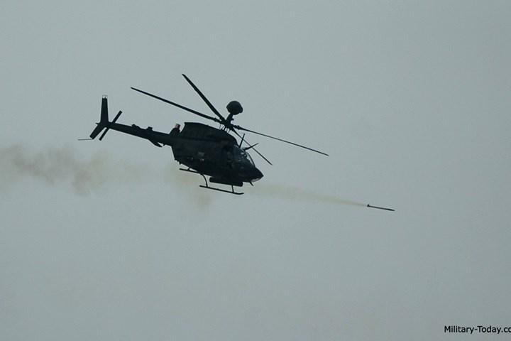 Năm 2016, dòng OH-59D đã được thay thế bằng OH-58F hiện đại hơn.