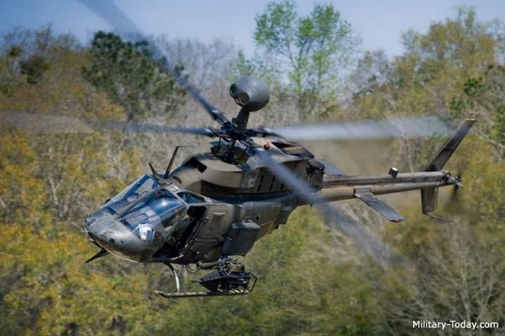 Máy bay OH-58D Kiowa Warrior là một loại trực thăng trinh sát một động cơ do hãng Bell phát triển.