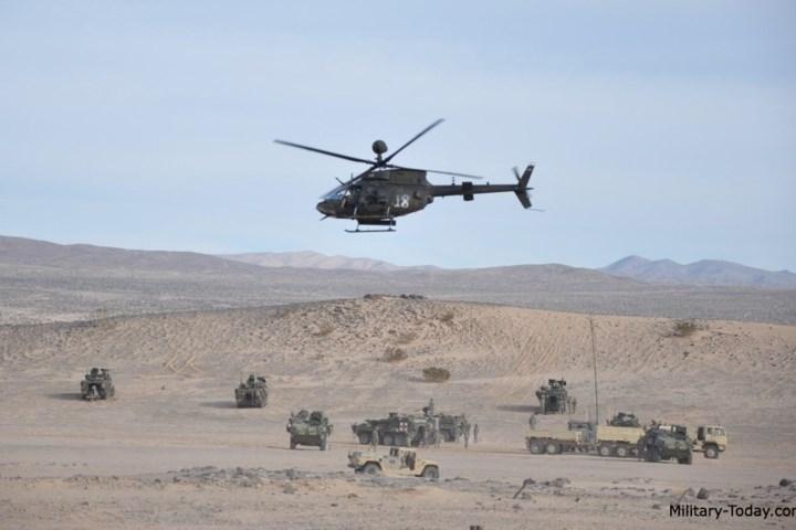 Đến năm 2013, tổng cộng 368 chiếc trực thăng loại này đã phục vụ trong quân đội Mỹ, tác chiến ở Panama, Iraq và Afghanistan.