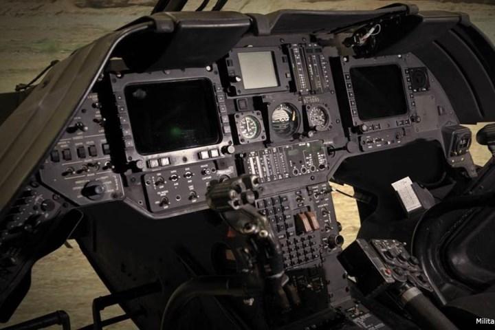 Trực thăng OH-58D có hệ thống quan sát MMS giúp nó có thể tác chiến cả trong đêm tối.