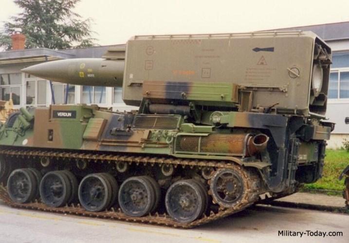 Loại tên lửa này phục vụ tích cực trong biên chế lục quân Pháp từ năm 1975 tới tận năm 1993. Ảnh: Military-Today.