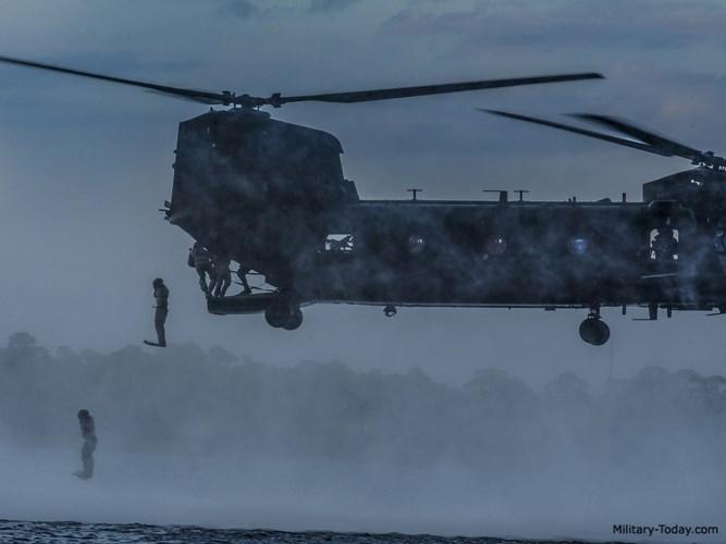 Trang Airforce Technology cho hay, MH-47 có trọng lượng cất cánh tối đa lên tới 24.494kg. Ảnh: Military-Today.