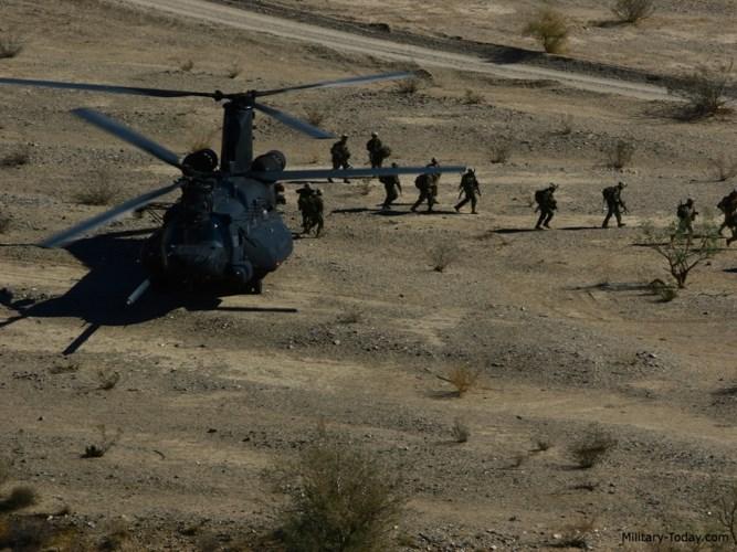 Theo chuyên trang quân sự Military Today, MH-47G hiện là phiên bản mới nhất và hiện đại nhất trong dòng trực thăng này. Ảnh: Military-Today.