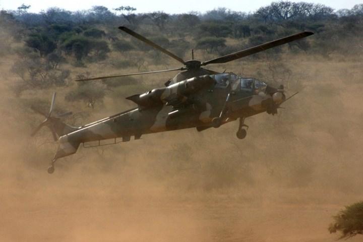 Ngoài ra trực thăng này còn có thể mang tên lửa không đối không tầm ngắn.