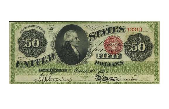 USA 1883 $500 BROWN SEAL GOLD CERTIFICATE – $193,875