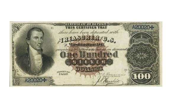USA 1891 $50 SEWARD TREASURY NOTE – $235,000
