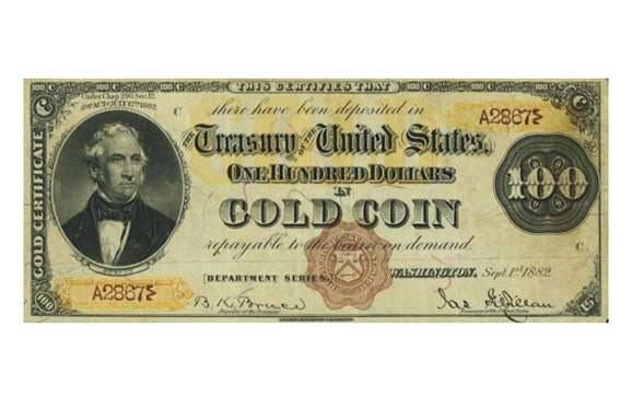USA 1928 $50 GOLD CERTIFICATE – $120,000