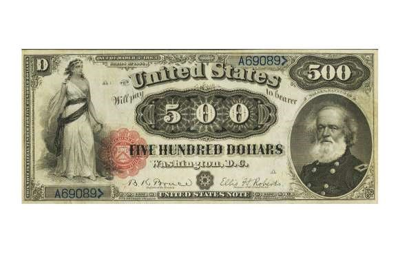 USA 1863 $20 GOLD CERTIFICATE – $352,500