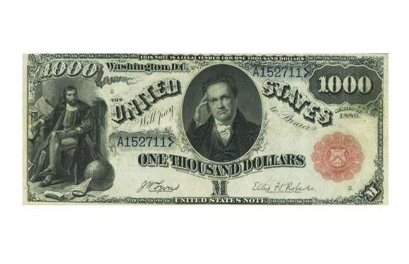 USA 1907 $1,000 GOLD CERTIFICATE – $176,250