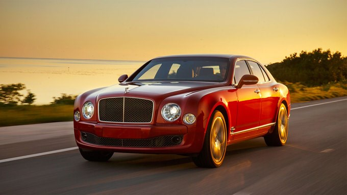 Bentley Mulsanne 305.000 USD - 98 xe