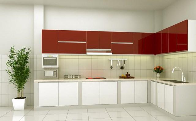 Không cần quá cầu kỳ, một khu bếp đơn giản nhưng đẹp, gọn mà không hề đơn điệu.
