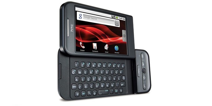 3. HTC Dream / T-Mobile G1