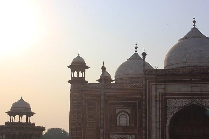 Hoàng hôn ở Taj Mahal là khoảnh khắc được nhiều du khách