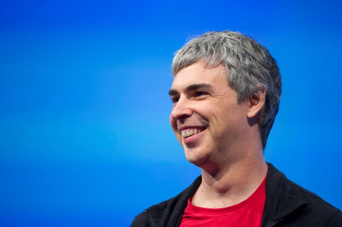 2. Larry Page CEO của Google, thuộc Alphabet.