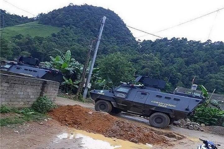 Sinjeong S5 là mẫu phương tiện bọc thép được thiết kế dành cho các lực lượng an ninh, cảnh sát chống bạo loạn, chống khủng bố cũng như phòng vệ dân sự.