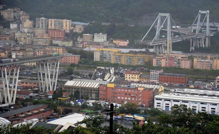 Đoạn cao tốc sập tại Genoa là một cấu thành của cầu Morandi, được xây dựng từ năm 1967. Tổng chiều dài của cầu này là hơn 1 km.