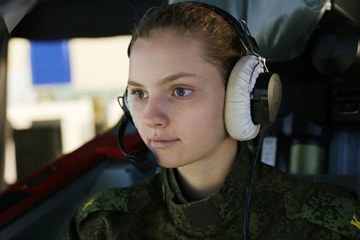 Học viên phi công quân sự tại trường Không quân Krasnodar.