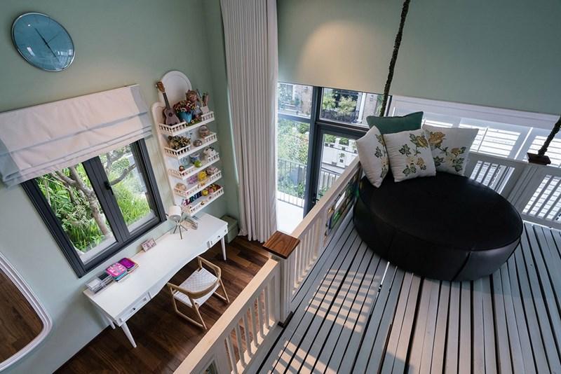 Không gian cho trẻ nhỏ cũng được đầu tư và chăm chút cẩn thận.