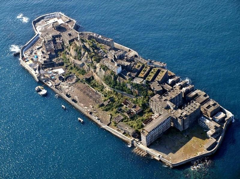 Đảo Hashima, Nhật Bản