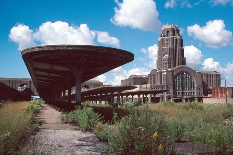 Nhà ga Buffalo cũ, Mỹ