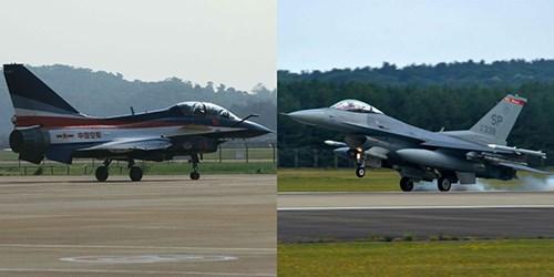Chengdu J-10 có hình dáng và nhiều công nghệ tương đồng General Dynamics F-16. Ảnh: Popular Mechanics.