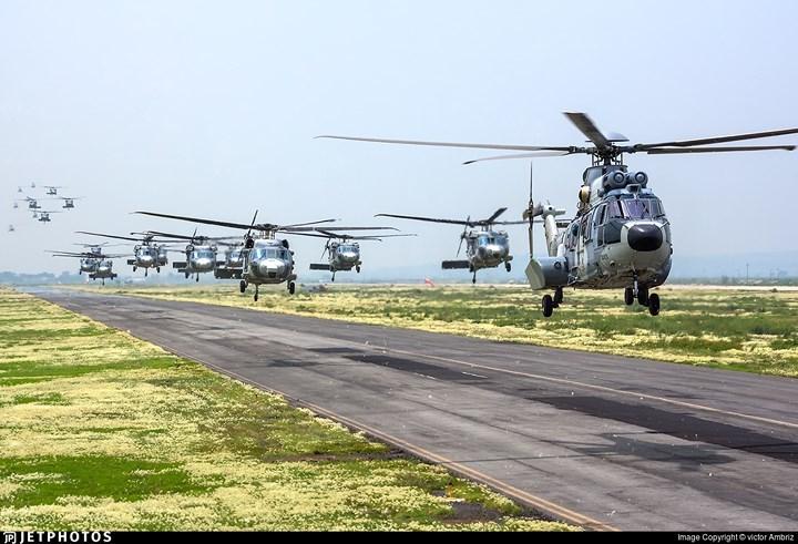 Máy bay trực thăng đa nhiệm này có thể được trang bị thêm lớp giáp để phục vụ chiến đấu.