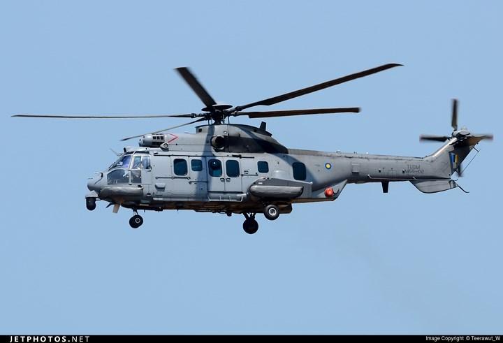 Trọng lượng cất cánh rỗng của EC 725 là 5.330kg, trọng lượng cất cánh tối đa 11.200kg.
