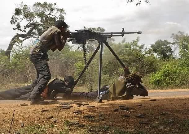 Bằng nhiều con đường khác nhau phiến quân tại chiến trường Trung Đông đang sử dụng rất nhiều súng máy loại này.