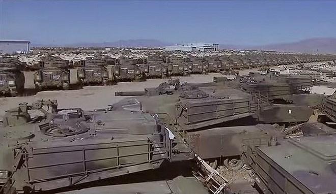 Căn cứ quân sự này được xây dựng vào năm 1942, mục đích thiết kế ban đầu là một cơ sở lưu trữ đạn dược nằm sâu trong nội địa để tránh các cuộc tập kích có thể xảy ra của Phát xít Nhật.