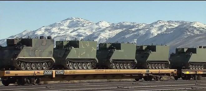 Sau đợt cắt giảm ngân sách quốc phòng hồi năm 2012, Quân đội Mỹ thông báo họ đã có đủ số lượng xe tăng Abrams cần thiết, bởi vậy nhiều chiếc đã được đưa tới đây để lưu trữ nhằm tiết kiệm số tiền lên tới 3 tỷ USD.